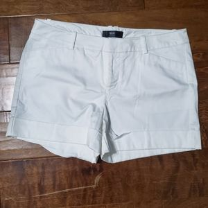 Mossimo Supply Co. Fit 3 Stretch White Shorts